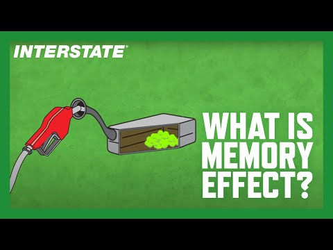Interstate Batteries explains the memory effect
