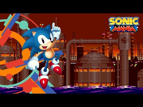 Sonic Mania Version 1.03 PS4 Archive - Oil Ocean Zone Act 2