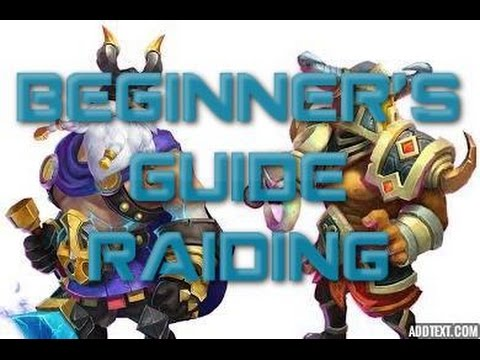 Castle Clash Beginner's Guide Raiding
