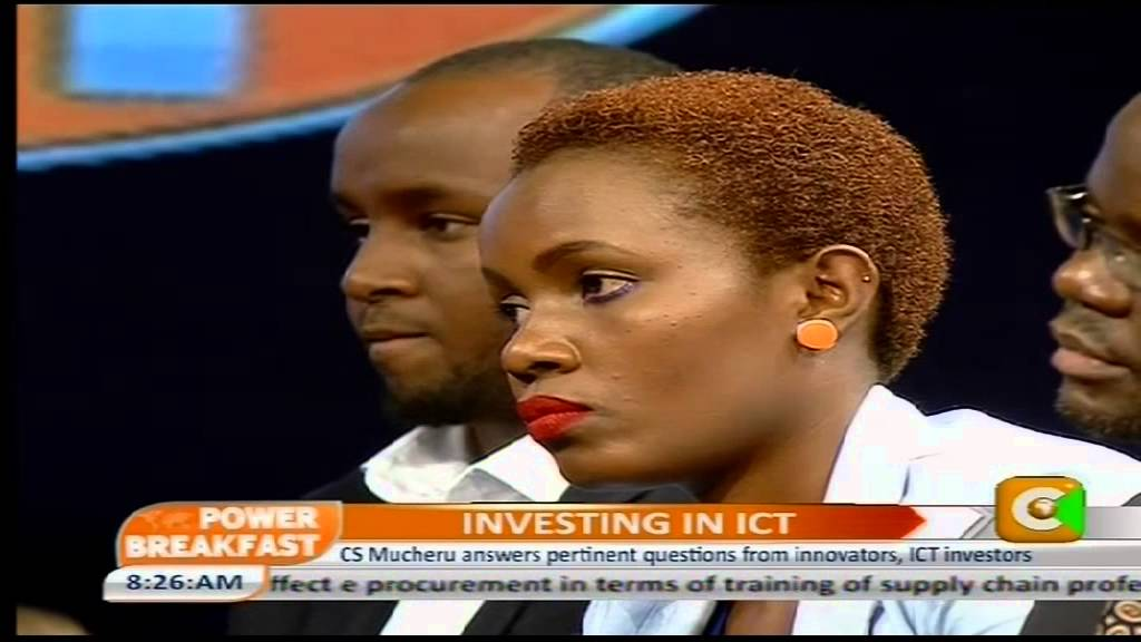 ICT CS Mucheru Q&A Session with young innovators on Tech startups