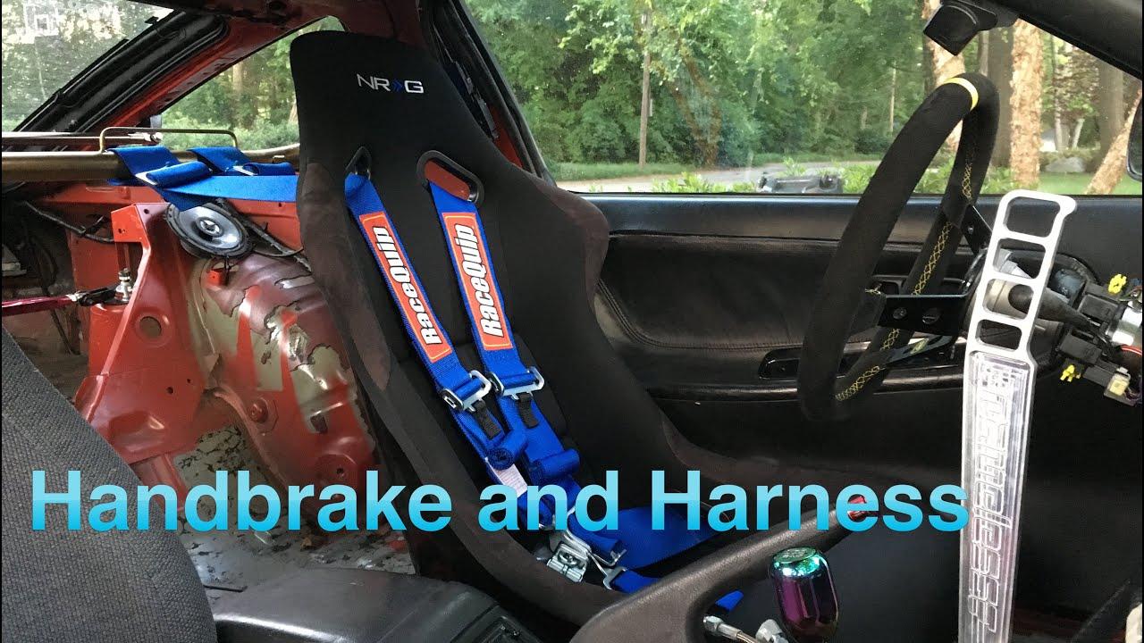 240sx Drift Build Ep. 22 // e ke and 5 Point Harness - YouTube
