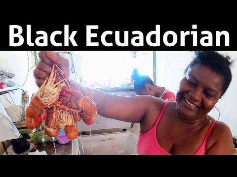 The Black People of Ecuador Esmeraldas  Beach- Diaspora in South America