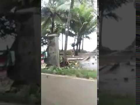 Kondisi karang bolong paska tsunami