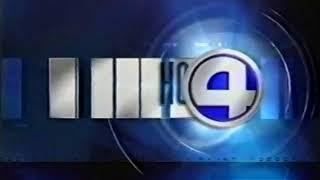 Короткая заставка программы Новости 4 канала Итоги дня 4 канал Екатеринбург 1999 2002 г