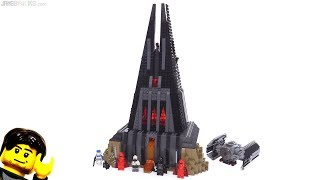 Baixar LEGO Star Wars Darth Vader's Castle set review! 75251