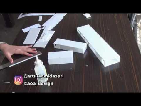 Artur architect, making creativity maquette of Taleqan project