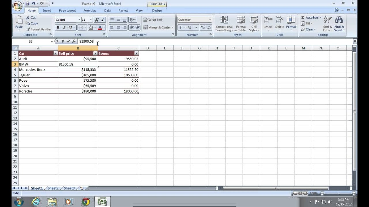 How to keep Excel 2007 from Rounding