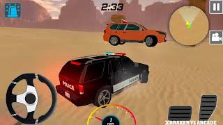 Police Car Driving Chase 2018 | Police Jeep 4x4 Unlocked  Carrer Mode - Android GamePlay HD
