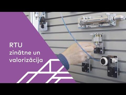 RTU MTAF Mehatronikas katedras Automatizācijas laboratorija