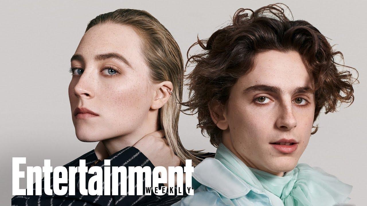 Little Women's Timothée Chalamet & Saoirse Ronan On New Film | Cover Shoot