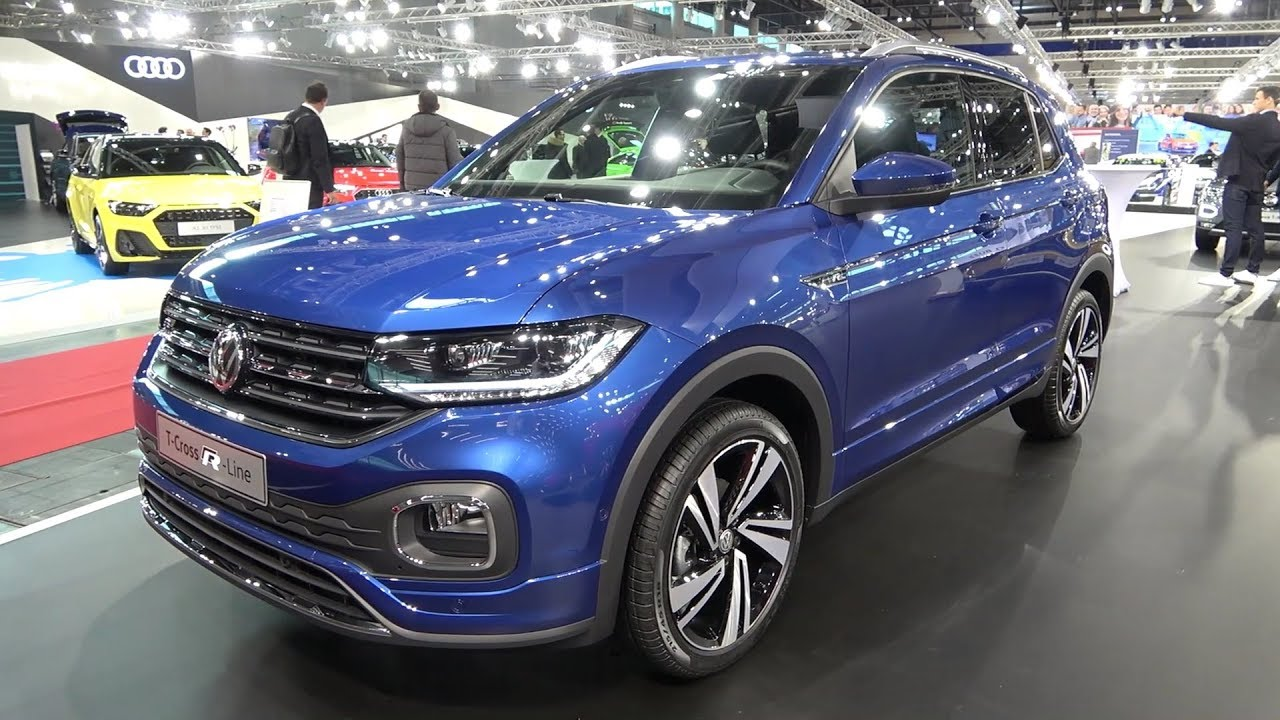 Volkswagen T-Cross R-Line first look & FULL REVIEW (1.0 TSI) - YouTube