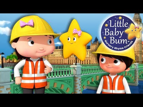 London Bridge Is Falling Down | Part 2 | Nursery Rhymes | Original Version By LittleBabyBum!