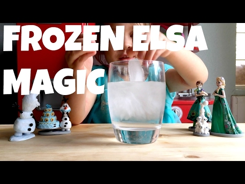FROZEN MAGIC Elsa ice powers instantly freeze water in real life!