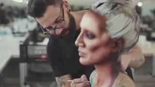 Making of - BODY PAINT - Aarón Blanco Make Up Studio