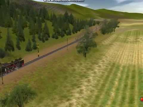 D50 steam locomotive from Indonesia in trainz simulator 2009