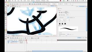 Drawing Using the Pencil Line Tool in Harmony 10