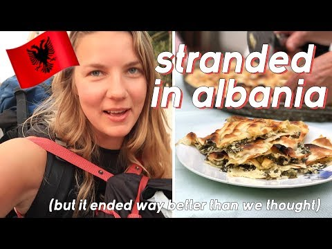 Stranded in ALBANIA! 18 hours in Korce - cooking local food