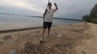 Рыбалка на донки на Сурском водохранилище Сурском море Отличный клёв Обкатка бензопилы