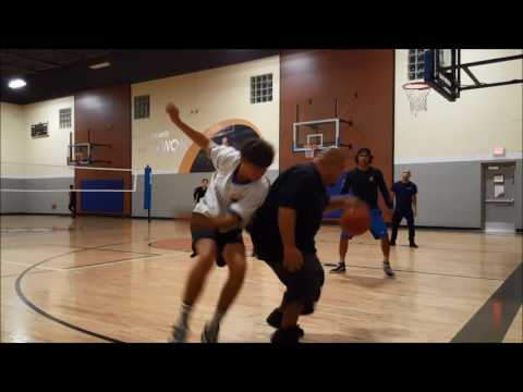 3v3 Making it Rain at 24 hr basketball gym (pick up game 1)
