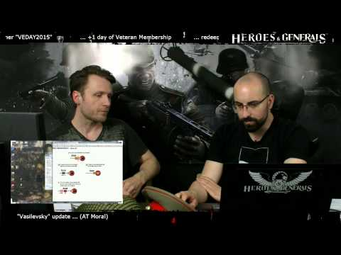 Heroes & Generals Devstream #31: Live from Copenhagen