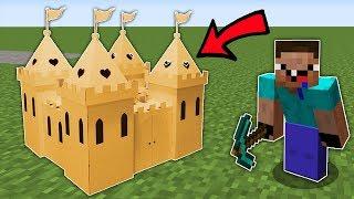 Нуб Сделал Замок из Картона в Майнкрафт ! Как выжить Неудачник нуб в Троллинг ловушке из Картона!