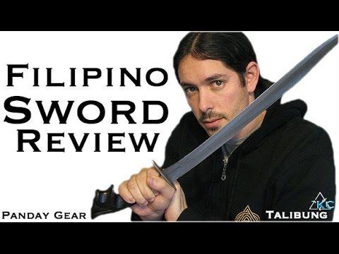 Talibung Sword Review - Filipino Weapons - Kali Sword Fighting