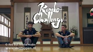 Max Verstappen and Daniel Ricciardo try Kendo, Suzuka, Japan, 04/10/2017