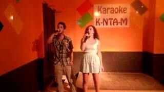 los chicoss bons cantado en el karaoke kantame