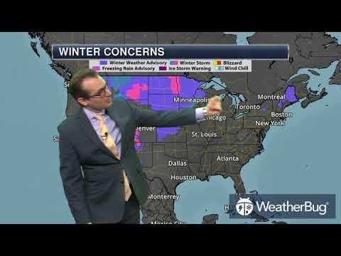 WeatherBug's National Weather Outlook   Jan 10, 2018 - Duur: 2:01.