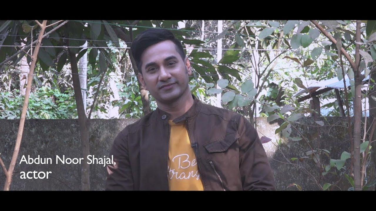 Celebrity Abdun Noor Shajal stands beside Early Married Girls
