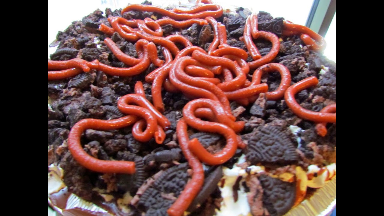 Hot Dog Made Of Worms