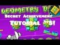 "Geometry Dash   ""The Vault"" Secret Achievement/Code Tutorial #8! (2.0)"