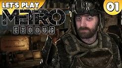 Let's Play Metro Exodus PC Gameplay - Raus aus der Metro 👑 #001 [Deutsch/German][1440p]