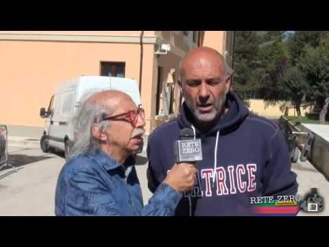 SERGIO PIROZZI SINDACO DI AMATRICE. TRA DOLORE E SPERANZA