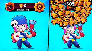 MAX POWER PENNY, 0 TROPHIES!.. // BrawlStars