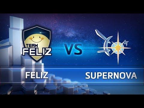 Team Feliz vs Supernova vod