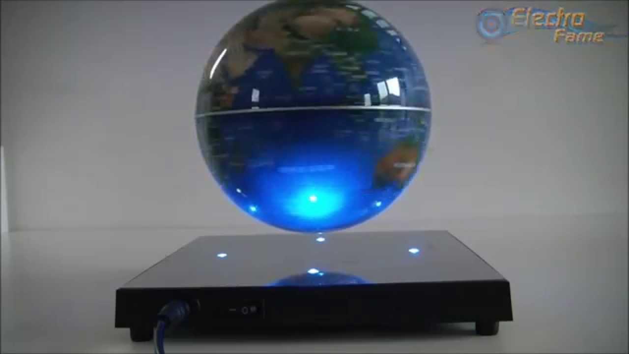 neuer magnetschwebeglobus wie stellt man einen schwebenden globus