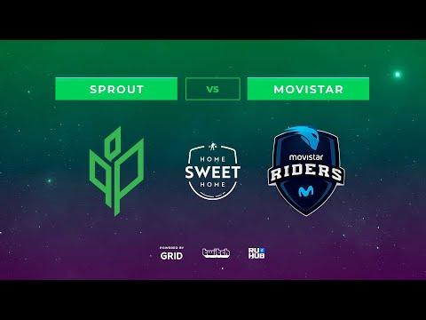 Sprout vs Movistar Riders vod