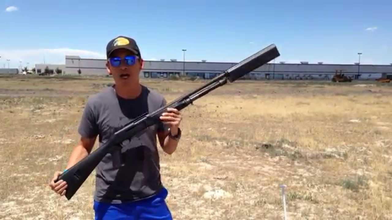 Silencerco New Salvo 12 Shotgun Suppressor Youtube