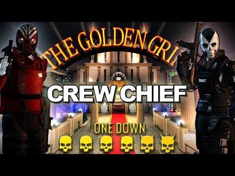 [Payday 2] Perk Decks In One Down (Loud) - Crew Chief - Golden Grin