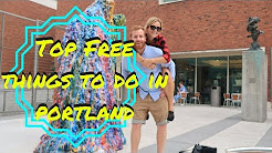 BEST FREE THINGS TO DO IN PORTLAND | USA TRAVEL VLOG