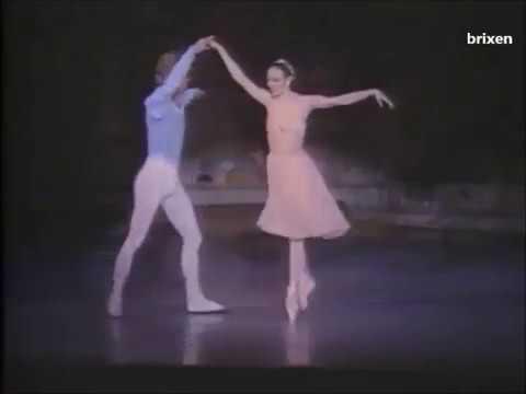 Tchaikovsky pas de deux - Balanchine - Patricia McBride, Reid Olson