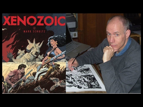 Xenozoic Xenophiles Episode 8: Mark Schultz Interview