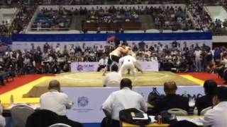 Чемпионат Мира по сумо ( RUS🇷🇺 vs JPN🇯🇵)