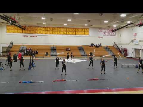 Bolsa Grande High School Winter guard March 23 2018.