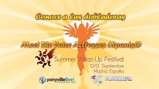 Summer Wrap Up 2015 - Conoce a las Dobladoras (Meet The Voice Actors Spanish)