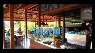 concept of interior and exterior cafe design as creative idea by  best cafe bali