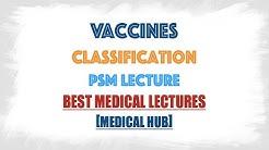 Classification of vaccines : Quick revision : Community Medicine,Psm