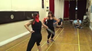 Cutlass Fight: Katey Di Giorgio & Kathy DiStefano