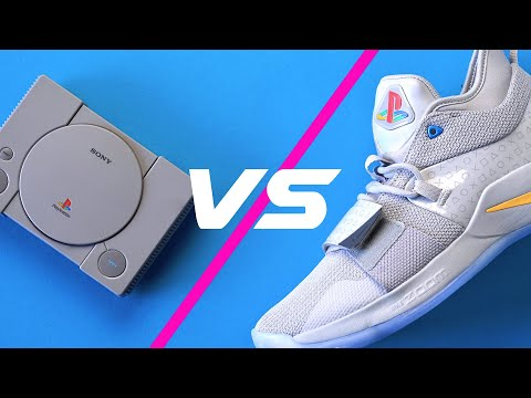 Playstation Classic vs Shoes